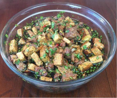 Pork and Tofu
