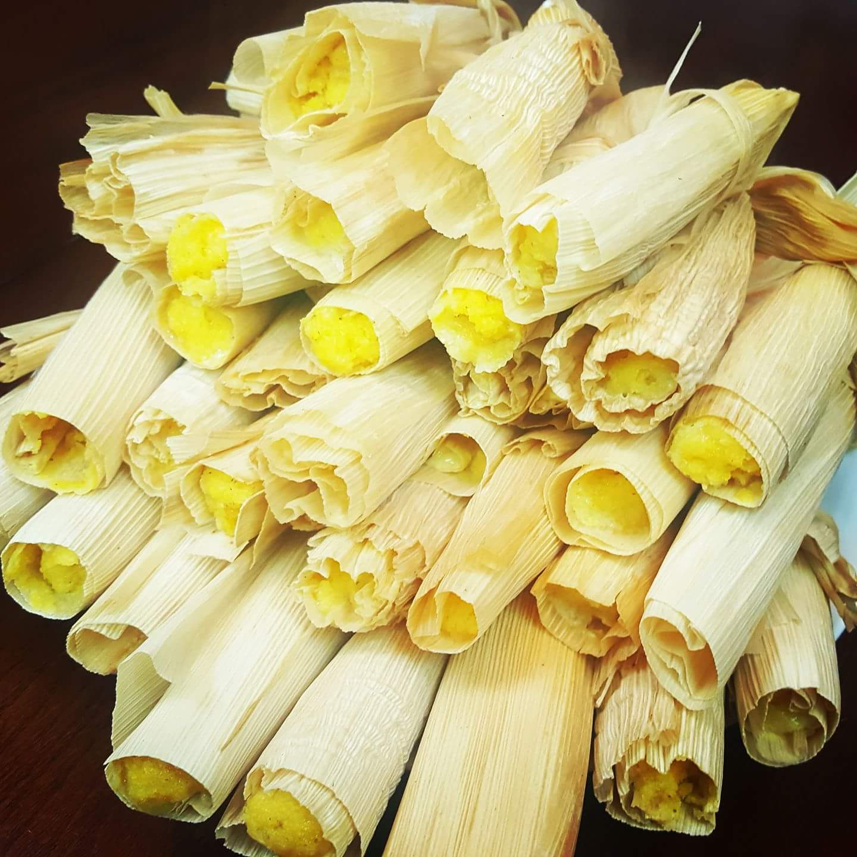 Binaki – Steamed Corn Cake