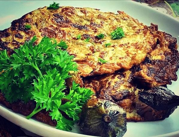 Tortang Talong – (Eggplant Omelet – Eggplant Quiche)